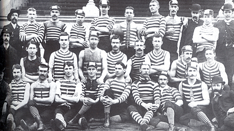 the history of the afl Compare australian football teams' elo ratings after every game in afl history.